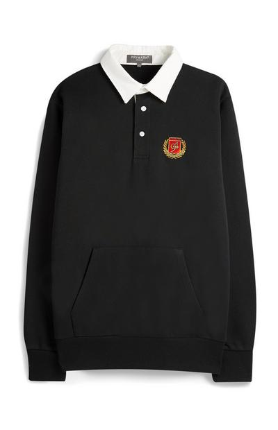 Black Rugby Top