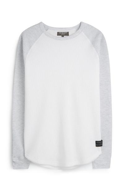 Grey Raglan T-Shirt