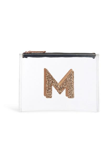 Transparent Initial Coin Purse