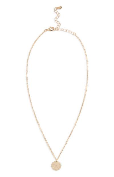 Delicate Cut Out Necklace