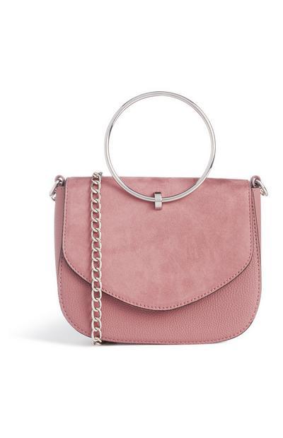 Pink Ring Handle Bag