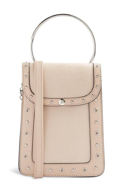 Nude Ring Handle Bag