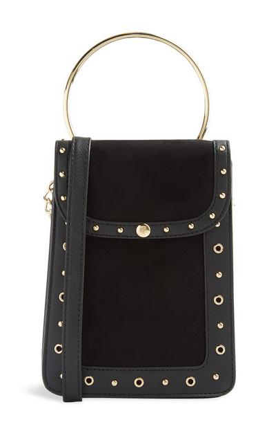 Black Ring Handle Bag