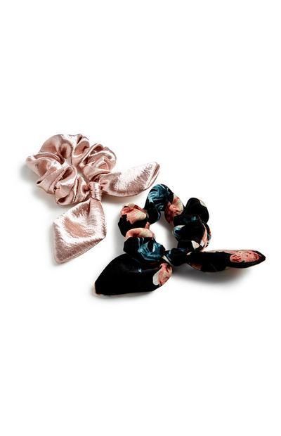 Bow Scrunchies 2Pk