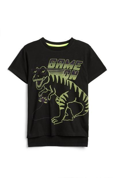 Dinosaur Game On T-Shirt