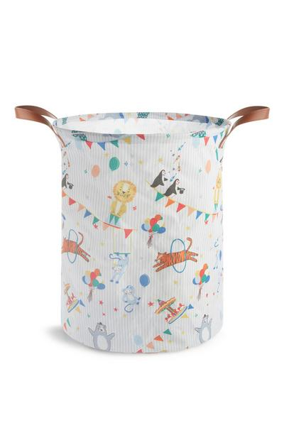 Kids Circus Laundry Bag