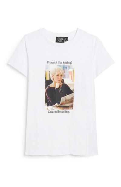 The Devil Wears Prada Slogan T-Shirt