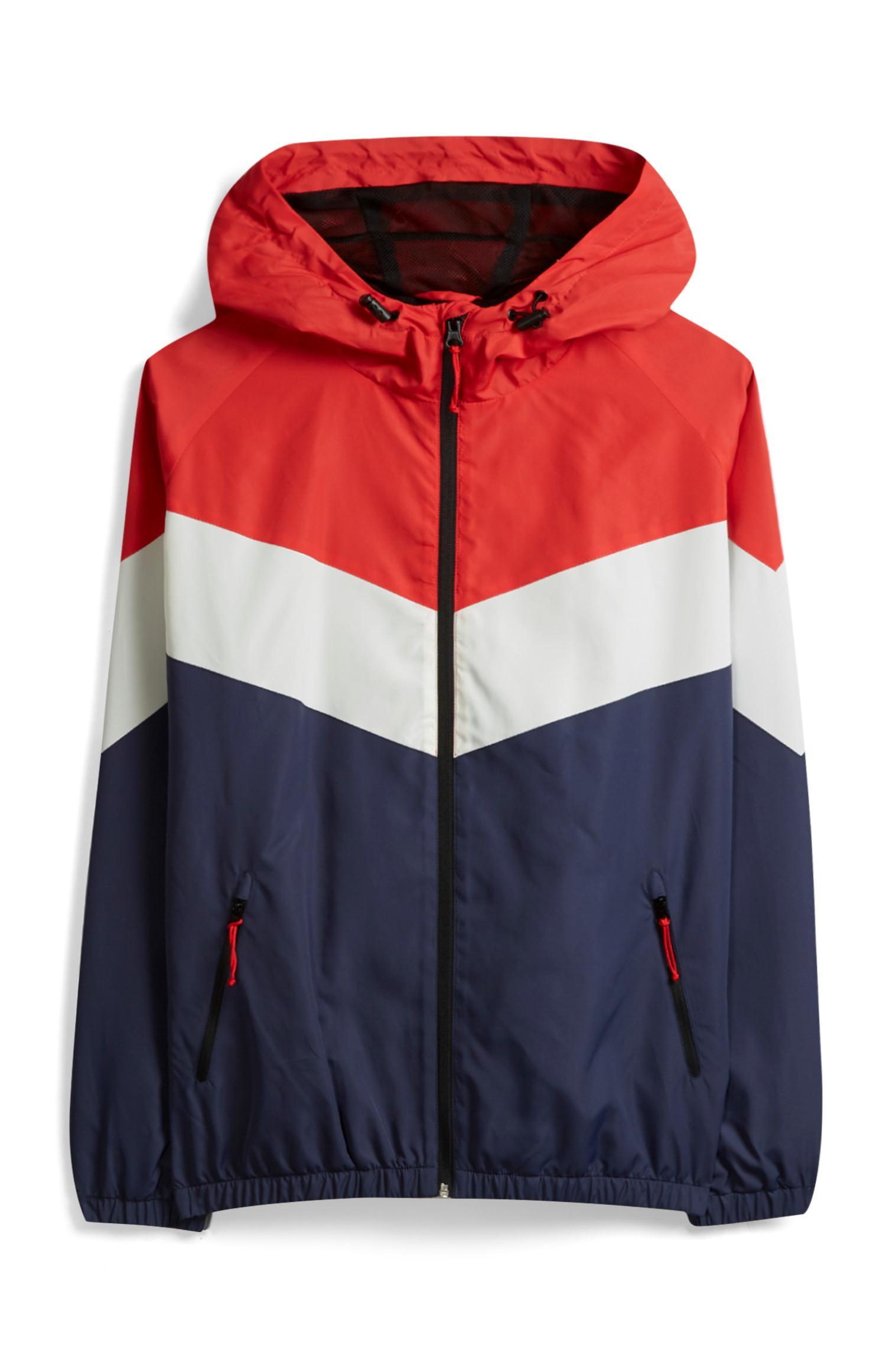 Chevron Zip Jacket
