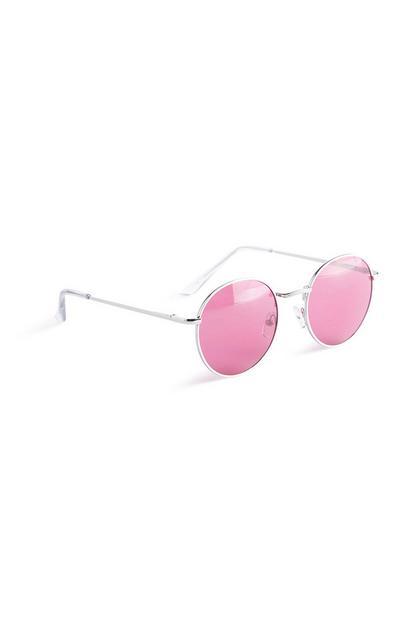 Pink Round Sunglasses