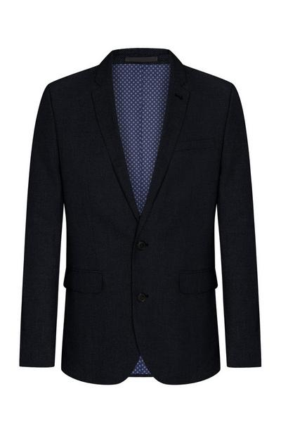 Black Basketweave Blazer