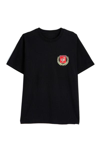 Black Mini Crest T-Shirt