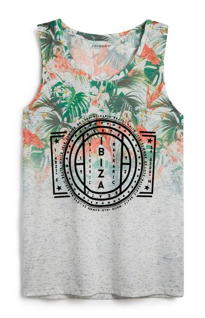 Floral Print Ibiza Vest