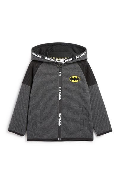 Younger Boy Batman Zip Hoodie