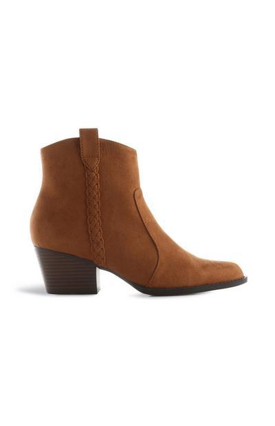 Tan Western Boot