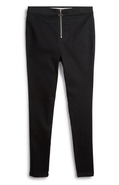 Older Girl Black Trousers