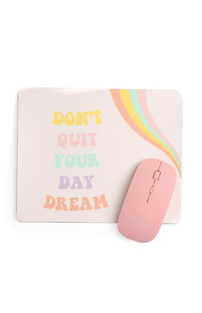 Slogan Mouse And Mat