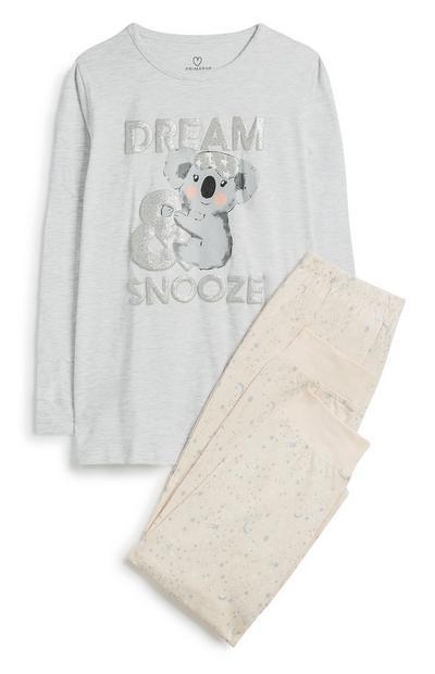 Koala Pyjama Set