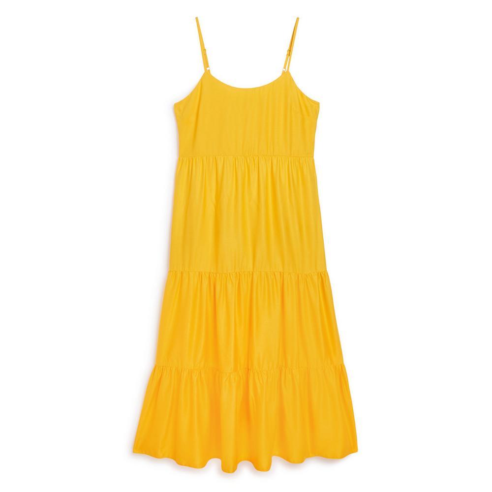 grand Prix bonne vente de chaussures recherche d'authentique Robe jaune à superpositions   Robes   Mode femme   Les ...