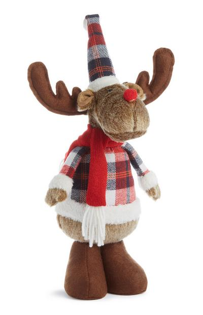 Brown Standing Reindeer