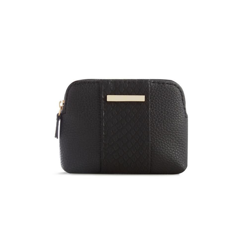 Noir Les Mode Femme Porte TexturéSacs Monnaie n0ONwv8m