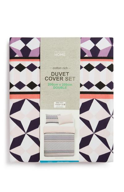 Sustainable Cotton Double Duvet Cover