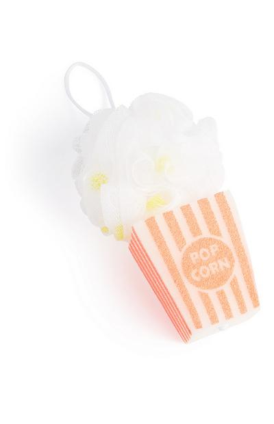 Popcorn Shower Puff