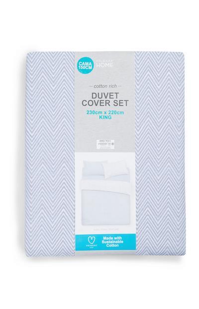 Sustainable Blue King Duvet