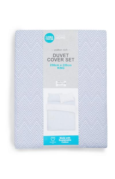 Sustainable Blue King Duvet