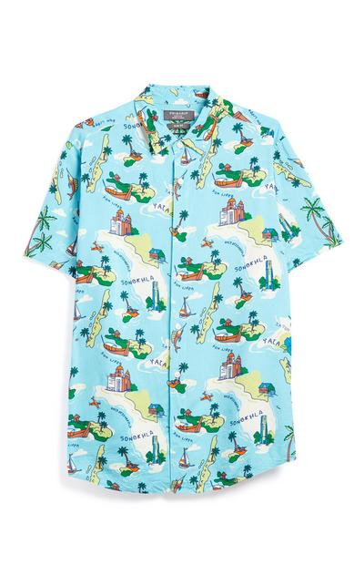 Blue Island Shirt