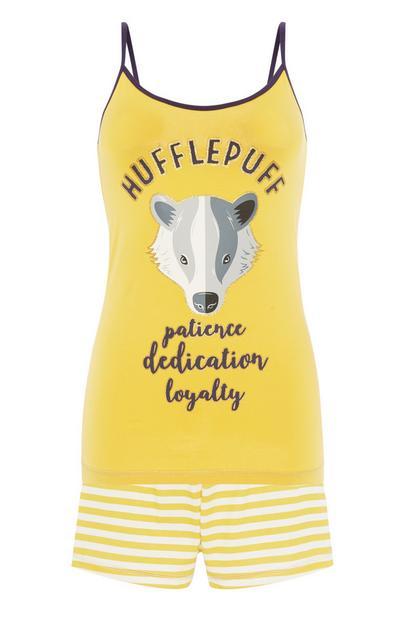 Harry Potter Yellow Cami Pyjama Set 2Pc