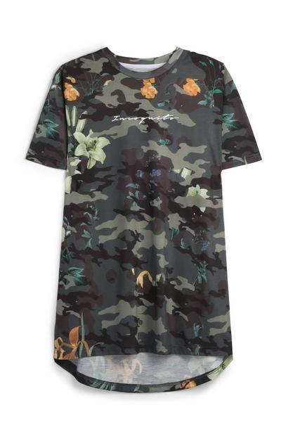 Camo Floral T-Shirt