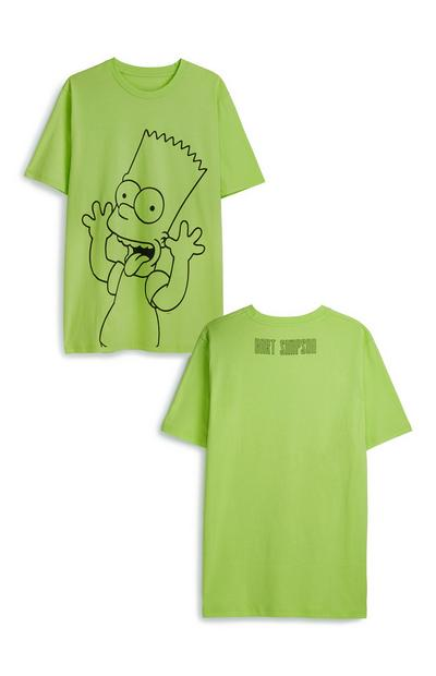 Bart Simpson Neon T-Shirt