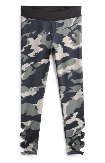 Older Girl Camo Trousers