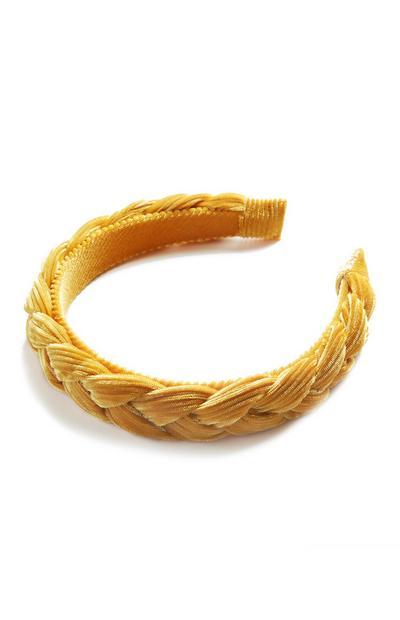 Velvet Plait Headband