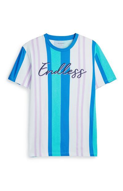 Blue Stripe T-Shirt