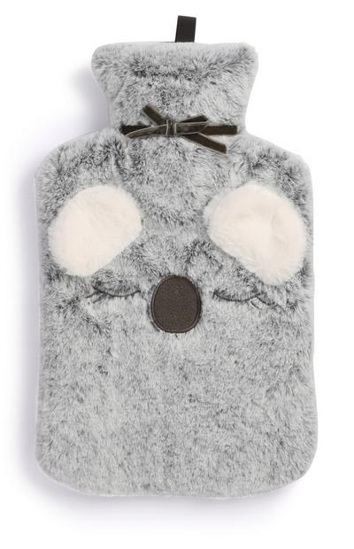 Grey Koala Hot Water Bottle