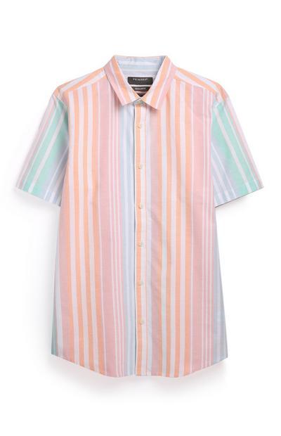 Stripe Short Sleeve Shirt