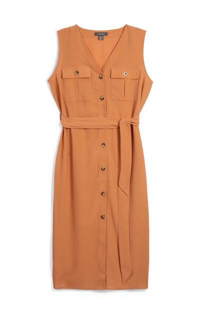 Natural Utility Dress