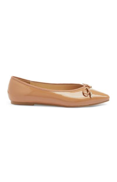 Patent Point Ballerina Pump