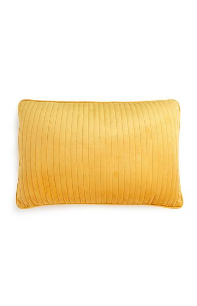 Mustard Yellow Oblong Cushion
