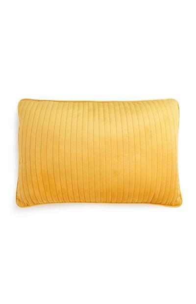 Mustard Yellow Oblong Cushion
