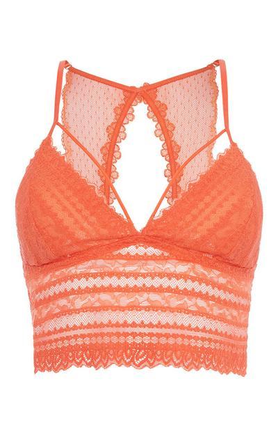 Orange Bralette