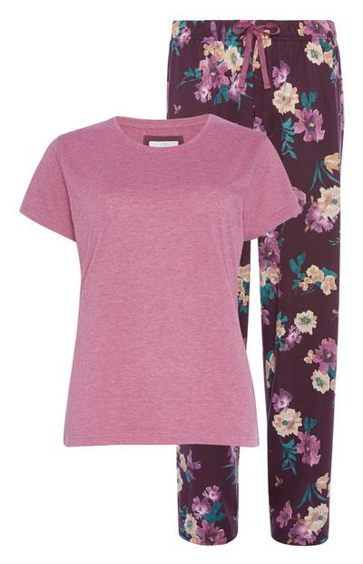 Sustainable Cotton Floral Pyjama Set