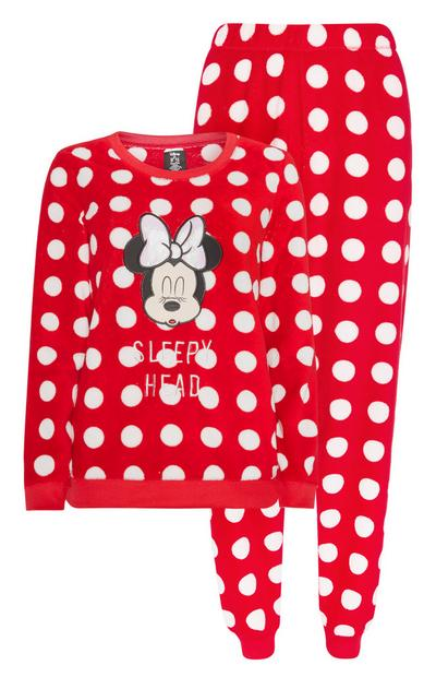 Minnie Mouse Polka Dot Pyjamas 2Pc