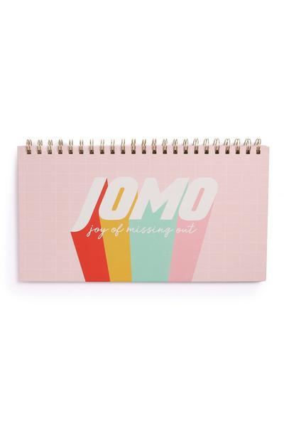 Pink Slogan Weekly Planner