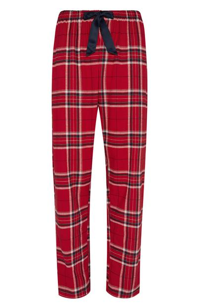 Red Flannel Pj Trouser