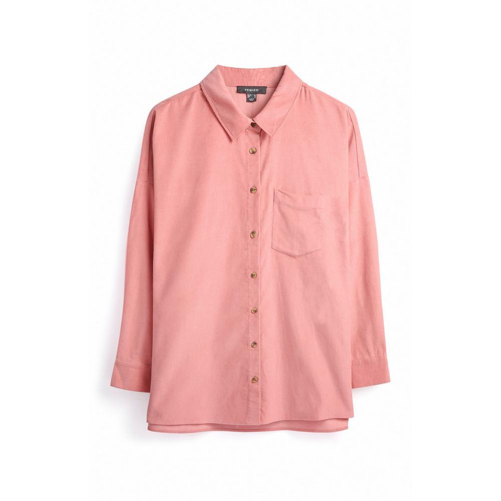 best website 8c0ec 5570f Camicia color cipria in velluto a coste | Camicie | Top ...