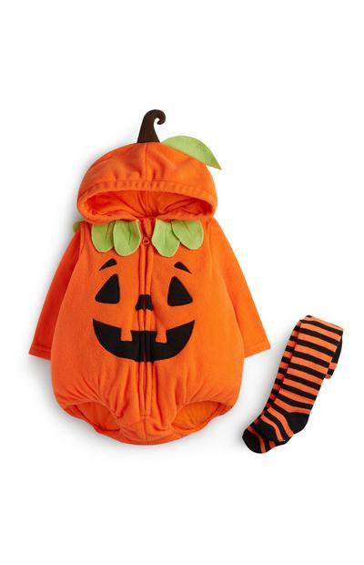 Newborn Pumpkin Outfit 2Pc