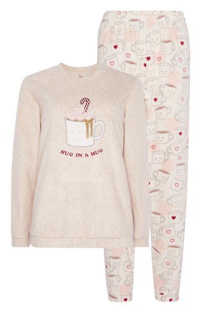 Coffee Pyjama Set