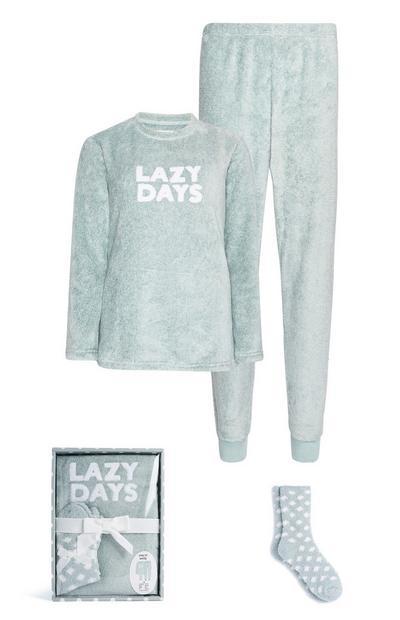 Lazy Days Pyjama Set